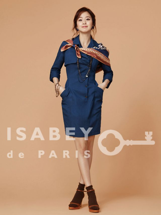 Kim Tae Hee Suits Up In Isabey De Paris Spring 2012