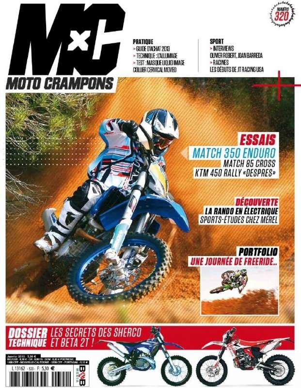 Moto Crampons N°320 Janvier 2013