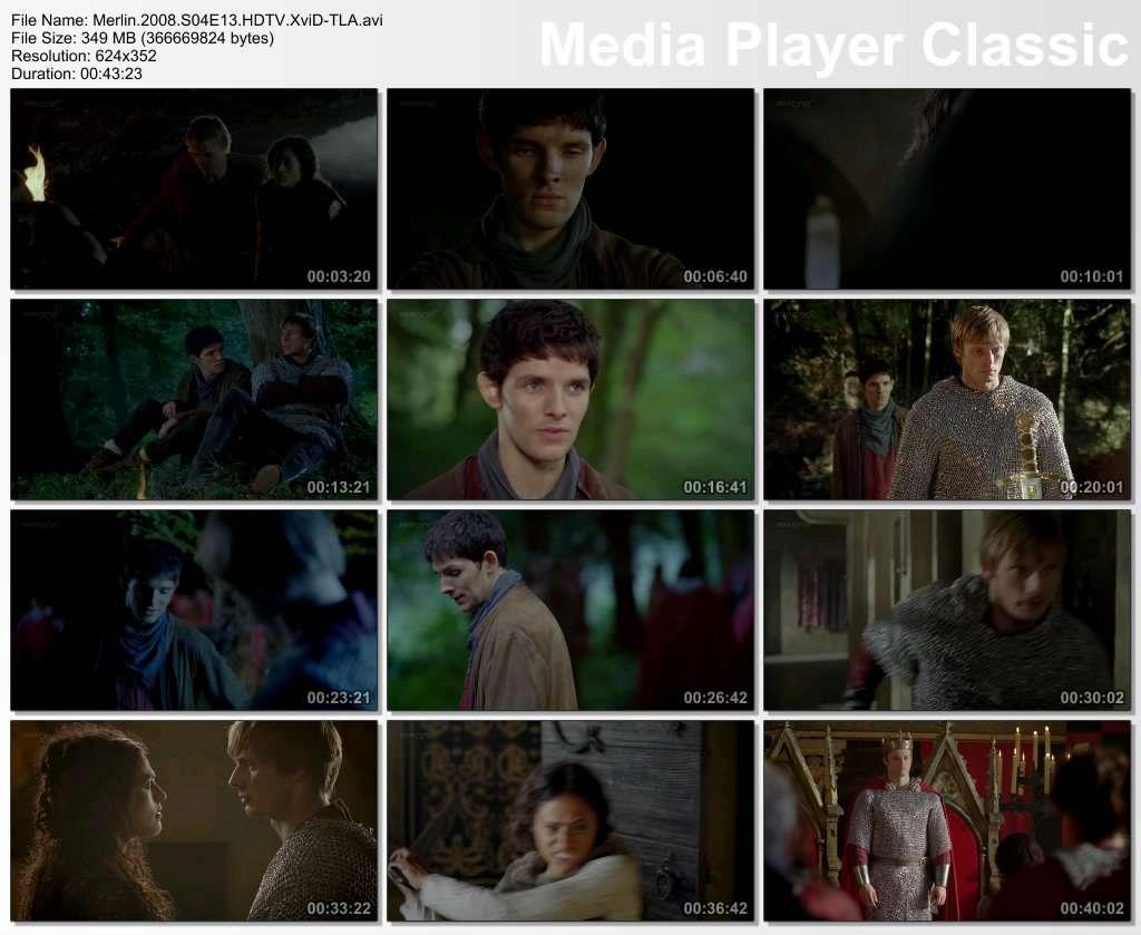 Merlin 4. Sezon 13. Bölüm DVBRip XviD Türkçe Altyazılı Tek Link indir
