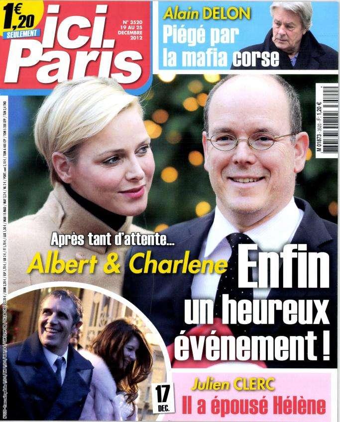 Ici Paris N°3520 du 19 au 25 Décembre 2012