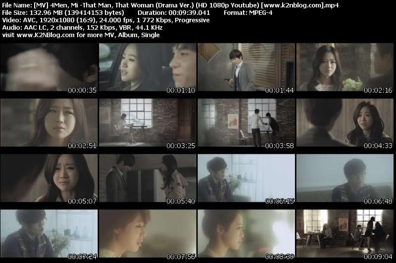 4Men, Mi -That Man, That Woman (Drama Ver.)